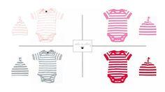 Bezauberndes Body & Mützchen Set  (100% Baumwolle)   ❤ 26,95€ 💟  www.who-is-alice-babyfashion.com/Fashion-for-your-Baby/Koenigliche-BabyBasic-Sets-Kombinationen