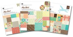 """Today's Peachy Cheap deal is 3 - 12"""" x 12"""" paper pads from Basic Grey.  54% OFF at www.peachycheap.com!"""
