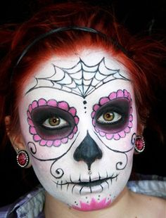 1000 images about d a de los muertos on pinterest maquillaje dia de and la catrina - Maquillage dia de los muertos ...