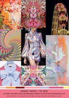 TrendSenses Moodboard Magic Swing SS 2018