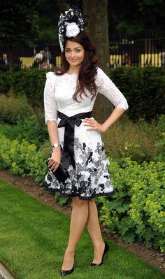 Aishwarya Rai Bachchan Sizzling in Derby hats