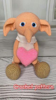 crochet toys Pattern Crochet House Elf Doll \ Photo tutorial crochet ENGLISH \ Elf pattern Doll making ================================================================================== Crochet Video, Crochet Basics, Tutorial Crochet, Doll Tutorial, Amigurumi Tutorial, Crochet Doll Pattern, Crochet Patterns Amigurumi, Amigurumi Doll, Crochet Rabbit Free Pattern