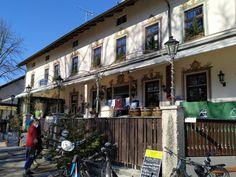 Schlossgastatätte Leutstetten Street View, Small Places, Bike Rides, Beer Garden, Playground
