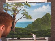 Paint with Kevin Hill - Quiet Lake - YouTube