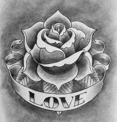 Rose tattoo by cubistpanther - 100+ Meaningful Rose Tattoo Designs  <3 <3