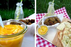 Linsenfalafel mit Mango-Chili-Dip vegan Holunderweg 18 Foodblog