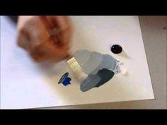 Cours Peinture à l'huile : Comment faire un glacis sur peinture à l'huile ? - YouTube