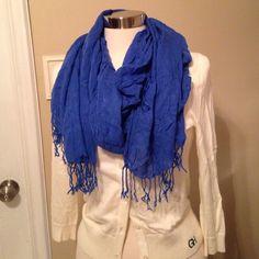 Blue Scarf Blue scarf Accessories Scarves & Wraps