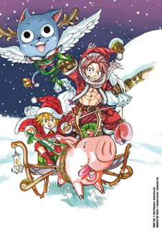 Nanatsu no Taizai and Fairy Tail crossover