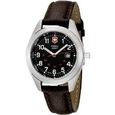 Victorinox 241084 Stainless Swiss Army Youth Watch   60