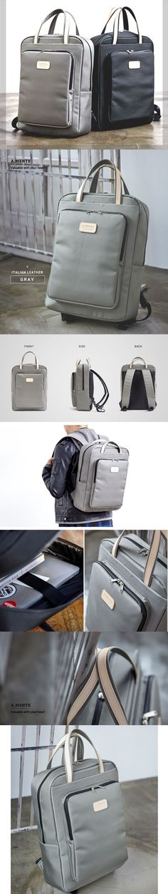 Laptop Backpack_Gray