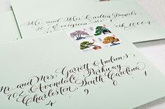 Oh So Beautiful Paper: Calligraphy Inspiration: MM Ink