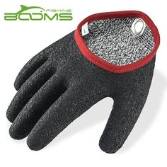Booms Fishing Free-Hands Fishing Gloves Waterproof and Provide Better Grip and with Magnet Release #Affiliate