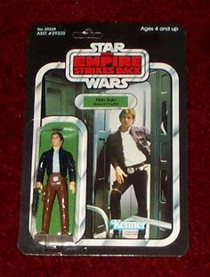 Kenner Empire Strikes Back Action Figure - Han Solo Bespin Outfit