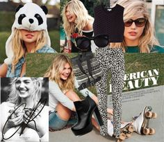 """""""Kate Upton"""" by giorgettecorry ❤ liked on Polyvore"""