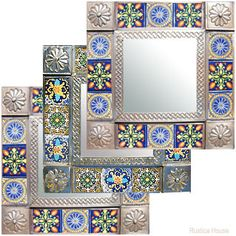 pictures of mexican mosaic frames   mexican mirrors small medium large custom mexican gifts for sale three ...