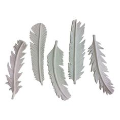Paper Mache Feather Collection - Set of 15 - $225 Est. Retail - $225 on Chairish.com