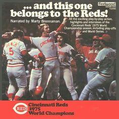 "This One Belongs To The #Reds"" #GoReds #Redlegs #Cincy #Champions #Baseball"