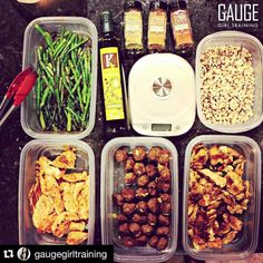 @gaugegirltraining is showing how to do some legit #mealprep for all you busy folks who are on your grind every day. Follow her for great meal planning tips! #primalpalatespices and @kasandrinos meal ideas too! # #Repost @gaugegirltraining with @repostapp. Meal prep staged and ready for portioning check out all the details of this prep on periscope account @gaugegirltraining. This prep features my chicken searing method that incorporates the most flavor and moisture you will ever achieve…
