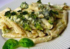 Na Cozinha da Margô: Macarrão com molho de Queijo e Brócolis