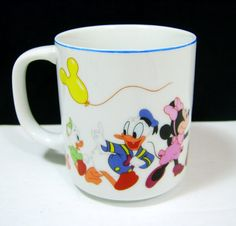 Disney Cup With Donald Duck and Mini Mouse and Friends Disney Cup With Donald Duck and Mini Mouse and by BricoSales Disney Cups, Mini Mouse, Walt Disney World, Donald Duck, Etsy Store, Disneyland, Mickey Mouse, Tea Cups, Chips