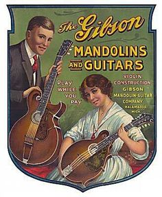 The Gibson - Play while you Pay  #Gibson Mandolin Guitars