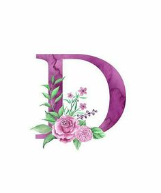 'Monogram D Lovely Rose Bouquet' Poster by floralmonogram D Letter Design, Monogram Design, Monogram Letters, Lettering Design, Monogram Wallpaper, Alphabet Wallpaper, Love Wallpaper, Iphone Wallpaper, Stylish Letters