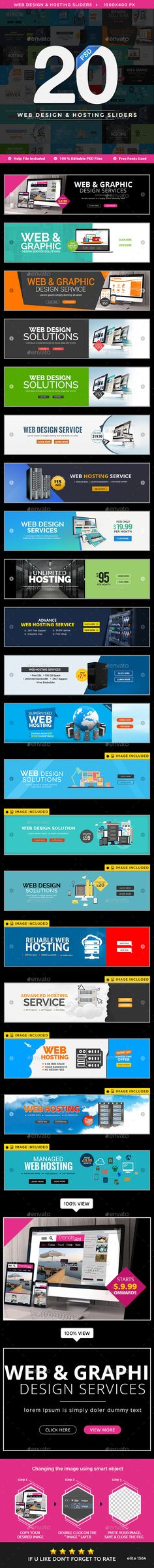 Web Design Hosting Sliders 20 Designs