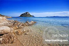 Cala Moresca beach, Golfo Aranci, Olbia, Sardinia, Italy