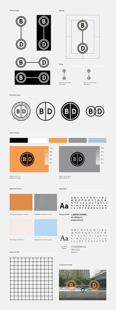 (2) B|D Landscape Architects | Branding | Pinterest
