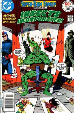 Super-Team Family: The Lost Issues!: Insects Incorporated!