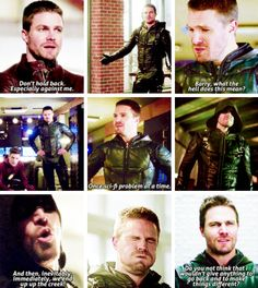 """Oliver Queen in #TheFlash #3x08 - Crossover Part 1 """"Invasion"""""""