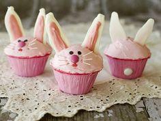 pink bunny cupcake