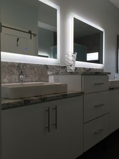 Looks amazing side by side with another LED Exquisite Illuminated Mirror - Small.
