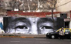 Buenos Aires Street Art | JR in San Telmo, Buenos Aires