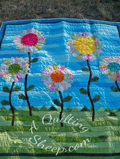 Oh, Happy Day: A Tutorial ~ by A Quilting Sheep