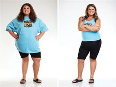 United States burst the biggest loser before and after striking comparison chart