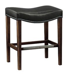 Madigan Backless Counter Stool from the Archive collection by Hickory Chair Furniture Co.