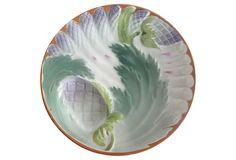 Majolica Asparagus Wall  Plate on OneKingsLane.com