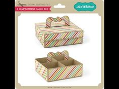 4 Compartment Candy Box