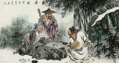 Picture of Weiqi game