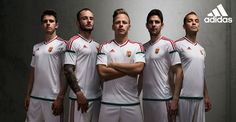 Itt van a magyar válogatott Eb-meze Hungary, Van, Adidas, Sports, Fashion, Legends, Hs Sports, Moda, Fashion Styles