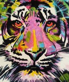 Artwork of a Tiger