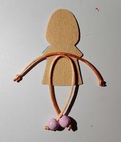 Contra la crisis yo elijo DIY RE: Personalizando las tapas de un cuaderno Yarn Dolls, Fabric Dolls, Tiny Dolls, Soft Dolls, Cloth Flowers, Diy Crafts Hacks, Felt Brooch, Felt Diy, Fabric Jewelry