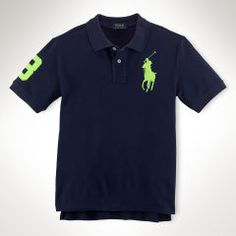 Big Pony Cotton Polo Shirt -  Polo Shirts - RalphLauren.com