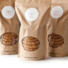 Packaging is amazing. And they sound delicious. #cookies #logos