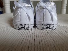Personalised Children's Converse Canvas Shoes Leather Trainers Pumps Sneakers White Customised Bling Wedding Communion Confirmation Birthday Leather Trainers, Leather Shoes, Personalised Converse, Pump Sneakers, Bling Wedding, Custom Canvas, Confirmation, Communion, Converse Shoes