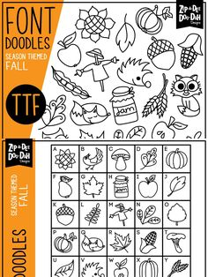 Doodle Fonts, My Doodle, Fall Harvest, How To Draw Hands, Stationery, Doodles, Letters, Feelings, Autumn Harvest