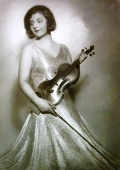 Alma Rosé, violinist, conductor, director of women's orchestra at auschwitz.  she helped save lives of over 40 mostly Jewish musicians during WWII.  Her uncle was composer-conductor Gustav Mahler.