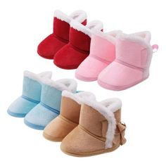 toddler baby winter non-slip warm boots shoes printing cotton boots side lace shoes baby toddler shoes Baby Winter Boots, Boys Snow Boots, Baby Girl Winter, Girls Winter Fashion, Baby Boy Fashion, Baby In Snow, Baby Uggs, Baby Girl Princess, Warm Boots
